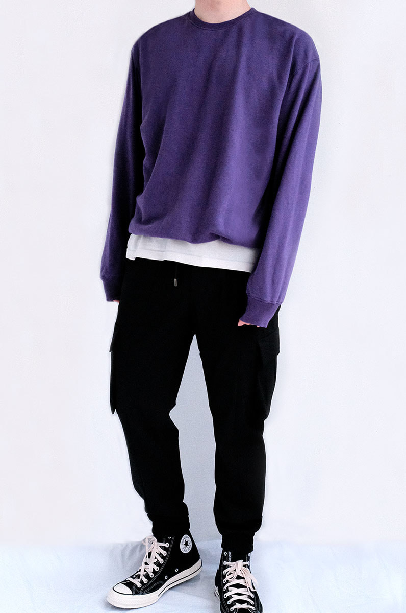 Over Sweat Shirts (Ultra Violet)