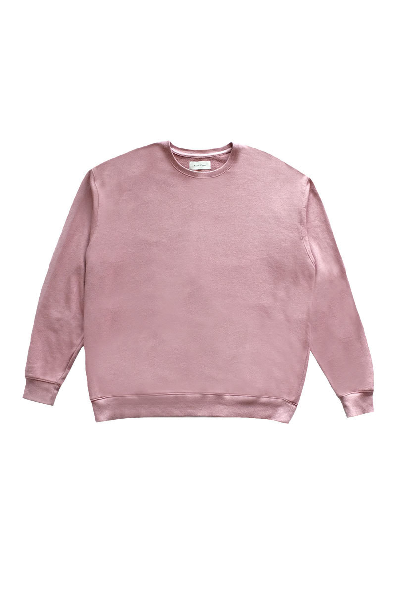 [SALE] Over Size Sweat Shirts (Sea Pink)