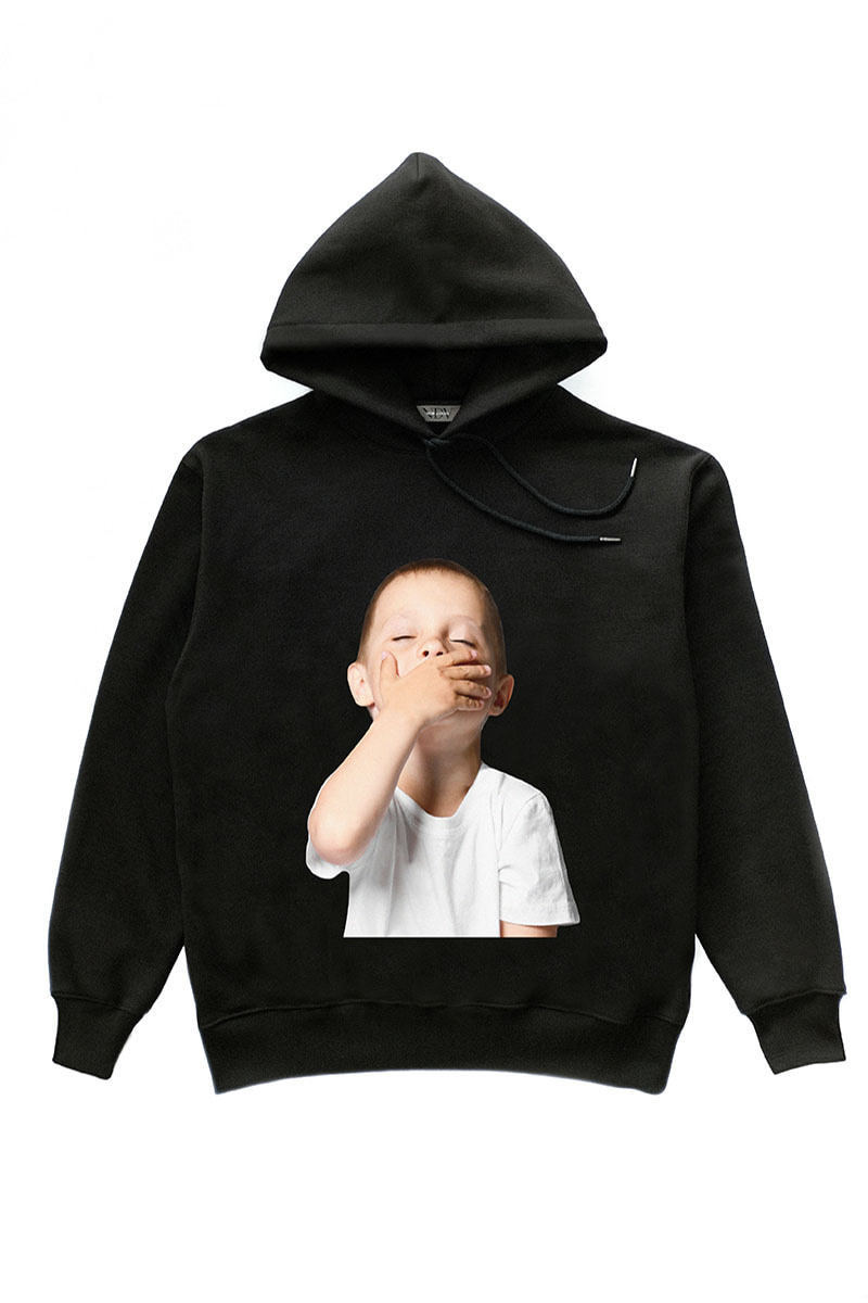 SLEEPY CHILD HOODIE BLACK