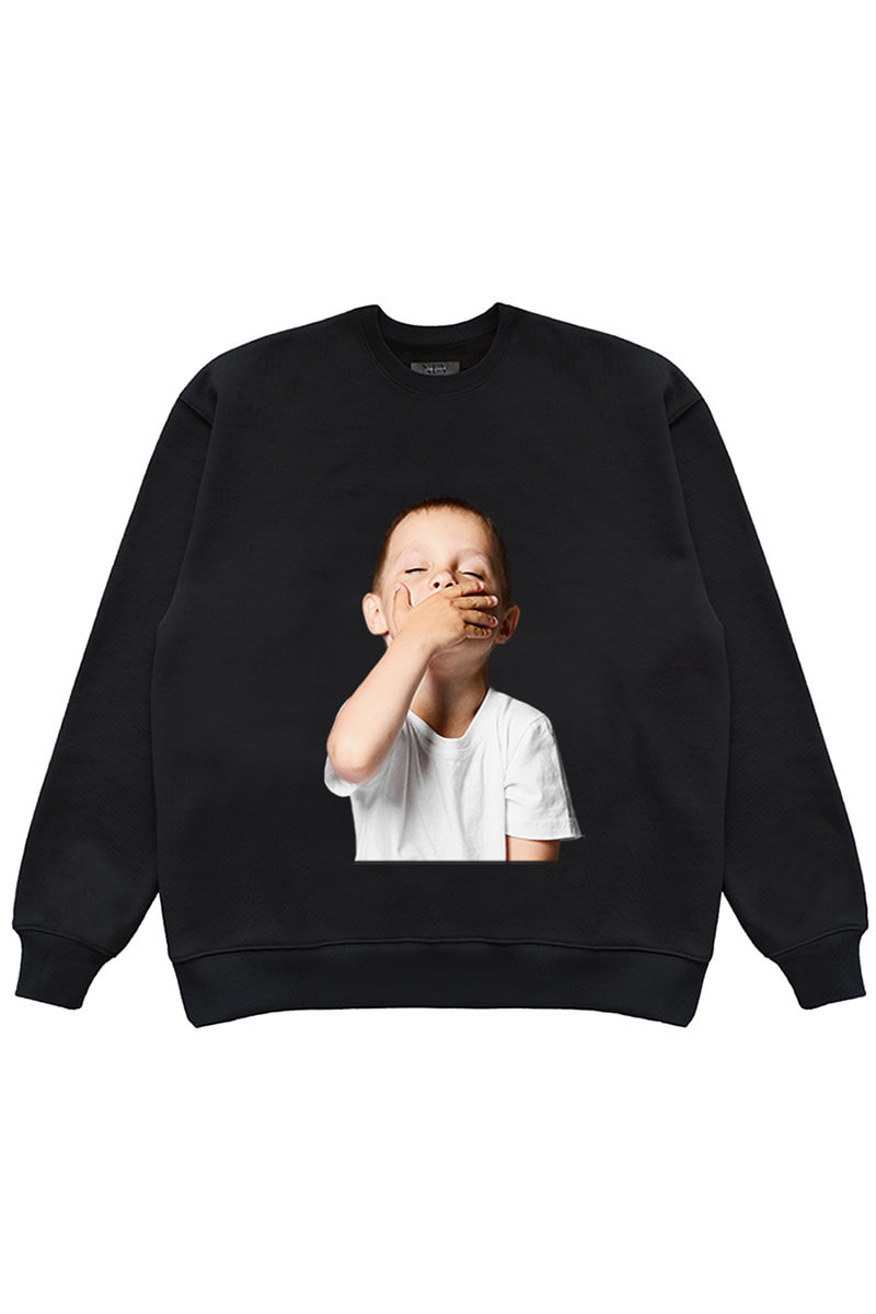 "SLEEPY CHILD SWEAT SHIRTS ""BLACK"""