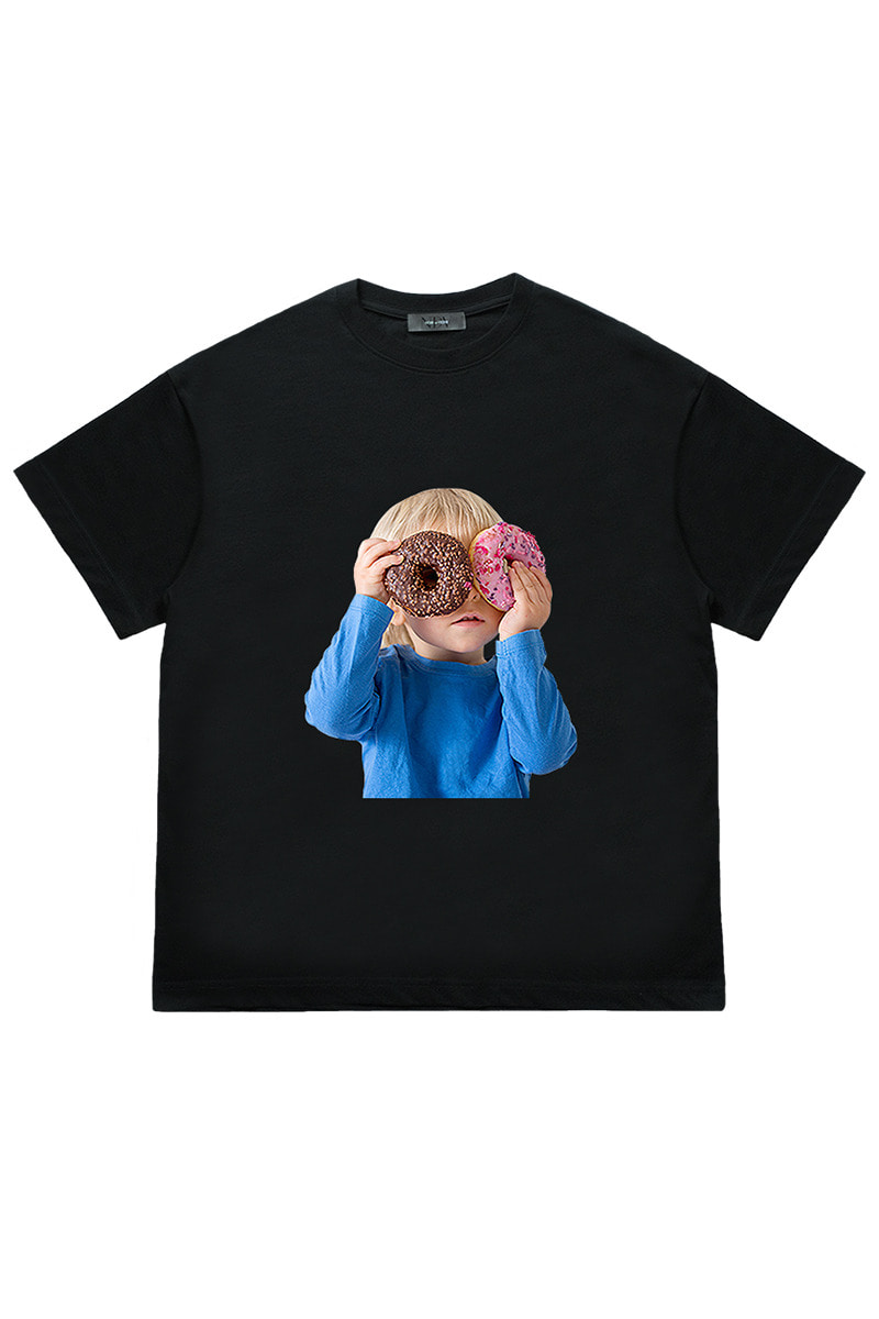 Two Donut Child 'Short Sleeve (Black)